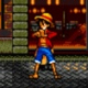 Luffy in Streets of Rage 2
