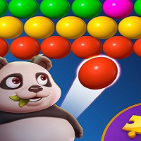 Panda Bubble Shooter game free