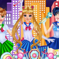 Sailor Moon Cosplay Show
