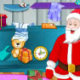 Santa Claus Christmas Cleaning