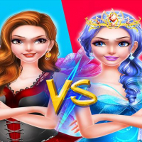 Fairy Princess Dress Up VS Witch Makeup