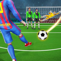 Football Kicks Strike Score : Messi