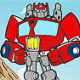 Pinte Optimus dos Transformers Rescue Bots
