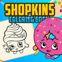 Shopkins Coloring Book